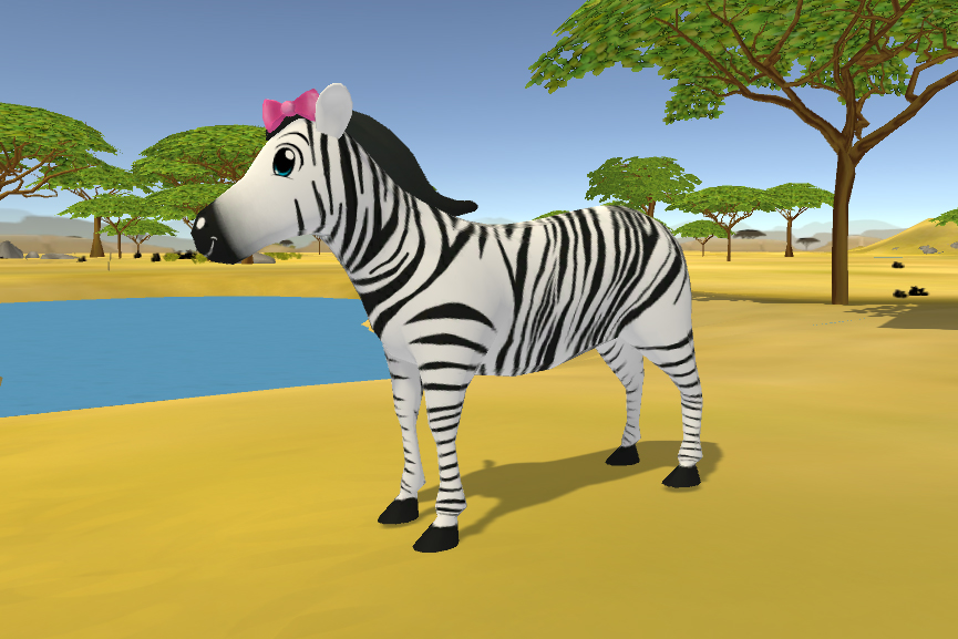 Final Version of Umi from Learn Safari - Side View