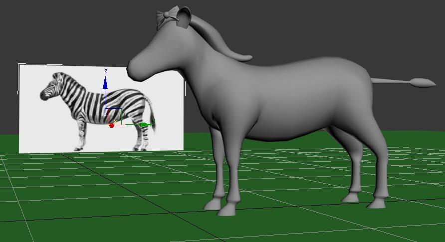 Um from Learn Safari compared to a zebra.