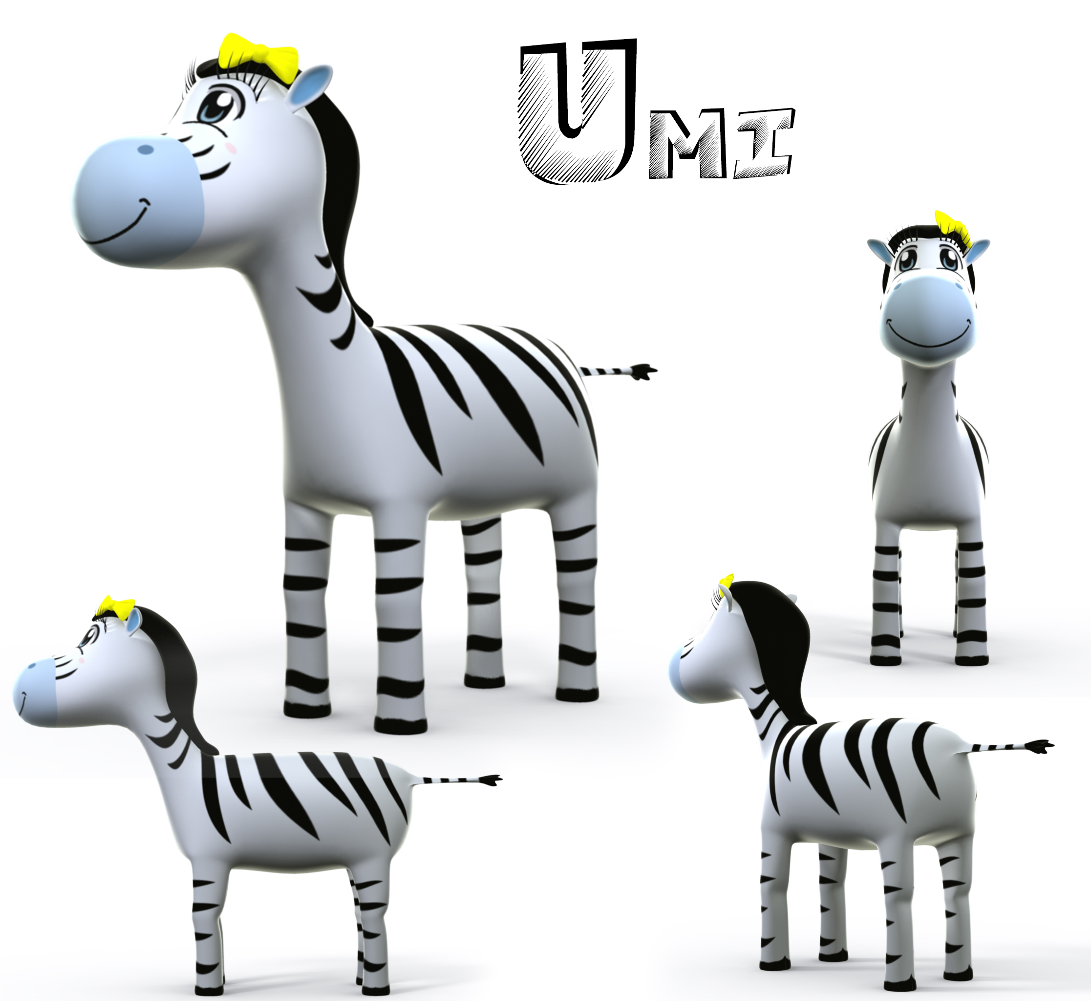 The first version of Umi from Learn Safari