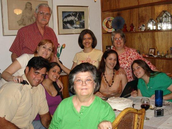 Some of the children and grandchildren of Grandma Cleo.