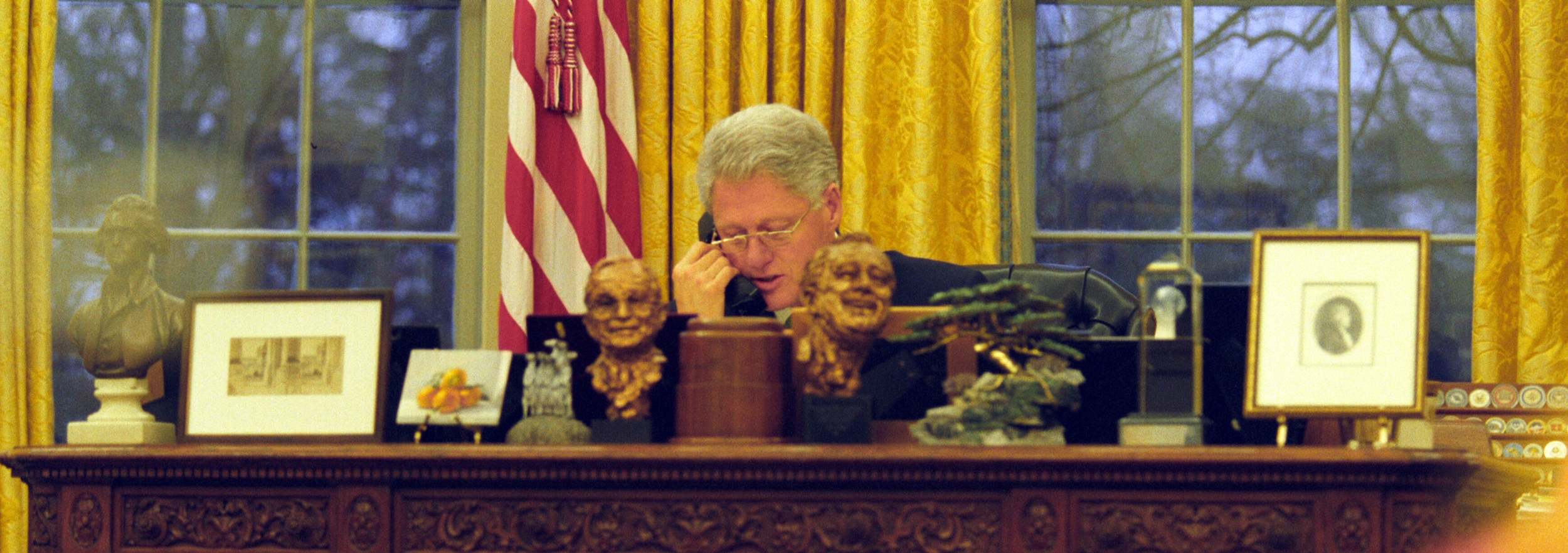 David Scull and White House Photograph Office, March 16, 2000.
