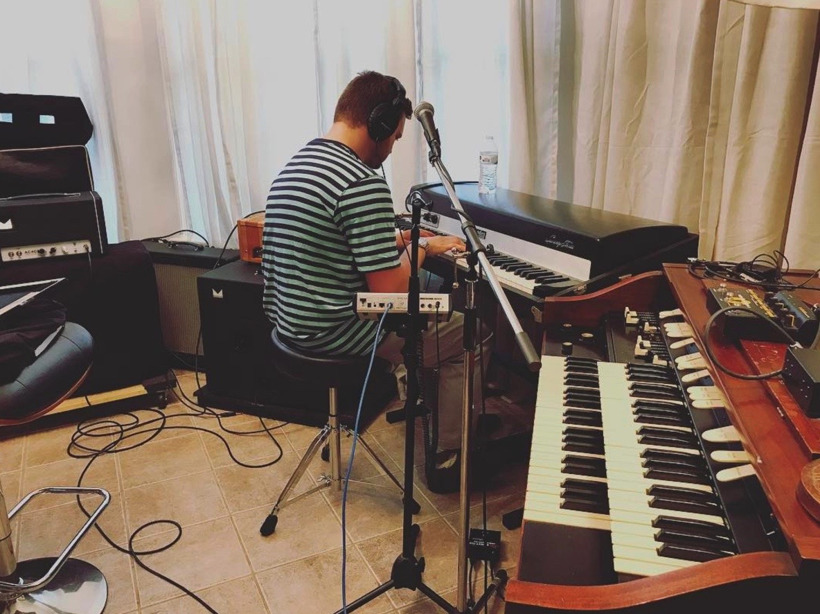 Keyboards - 1965 Steinway B (Fully Restored)Hammond L-111A OrganFender Rhodes (1973)Moog Sub 37 Tribute Duo-Phonic Synthesizer