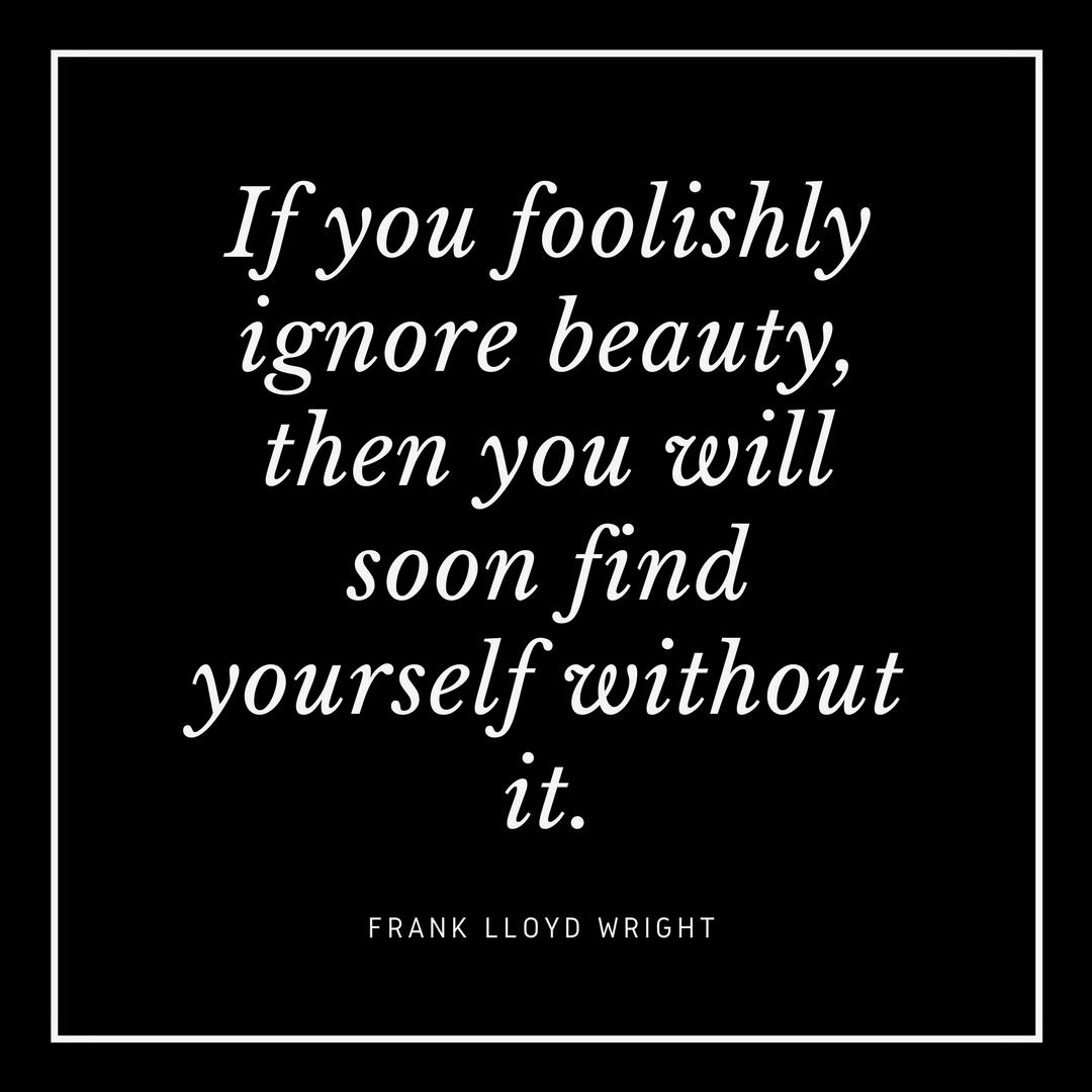 Frank Lloyd Wright on Beauty