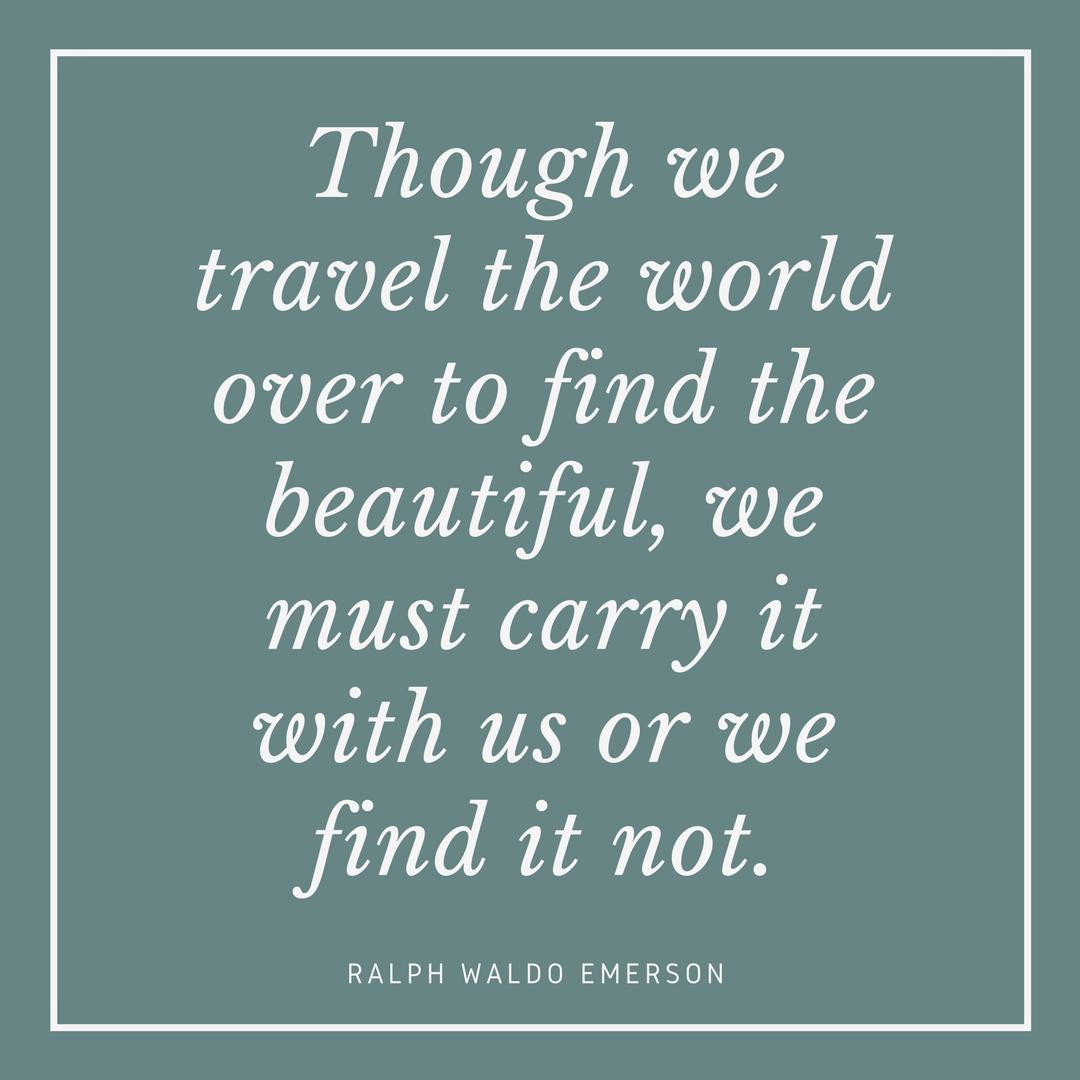 Ralph Waldo Emerson on Beauty