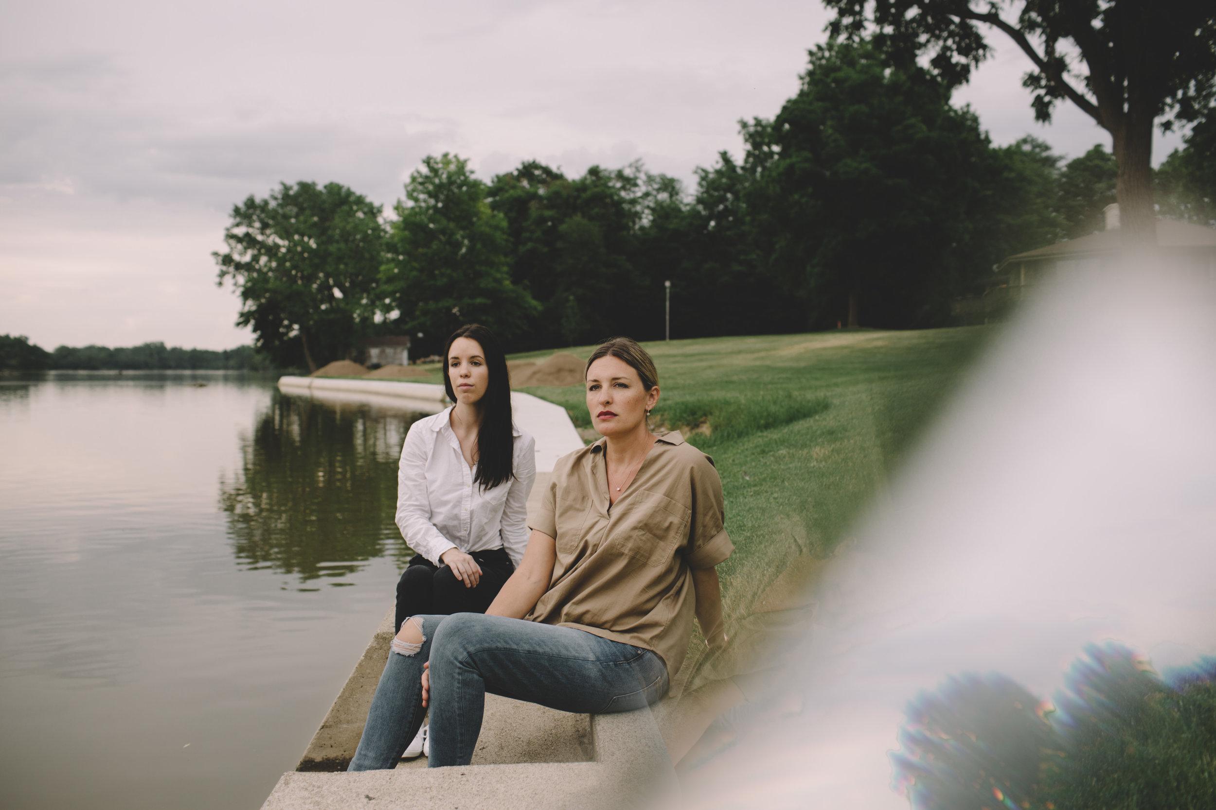 Bridget and Jennifer