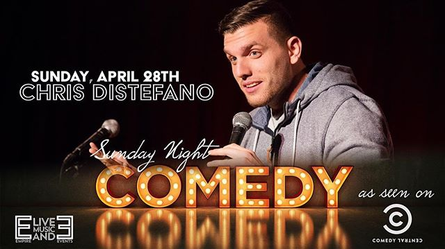 *JUST ANNOUNCED*  April 28th - Chris Distefano feat: Sergio Chicon May 5th - Sean Patton  TIX & INFO @ venue.portlandempire.com