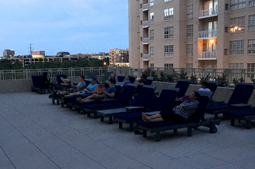 Movie Nights - Come join your neighbors on the pool deck to watch a movie together. Light refreshments often provided.