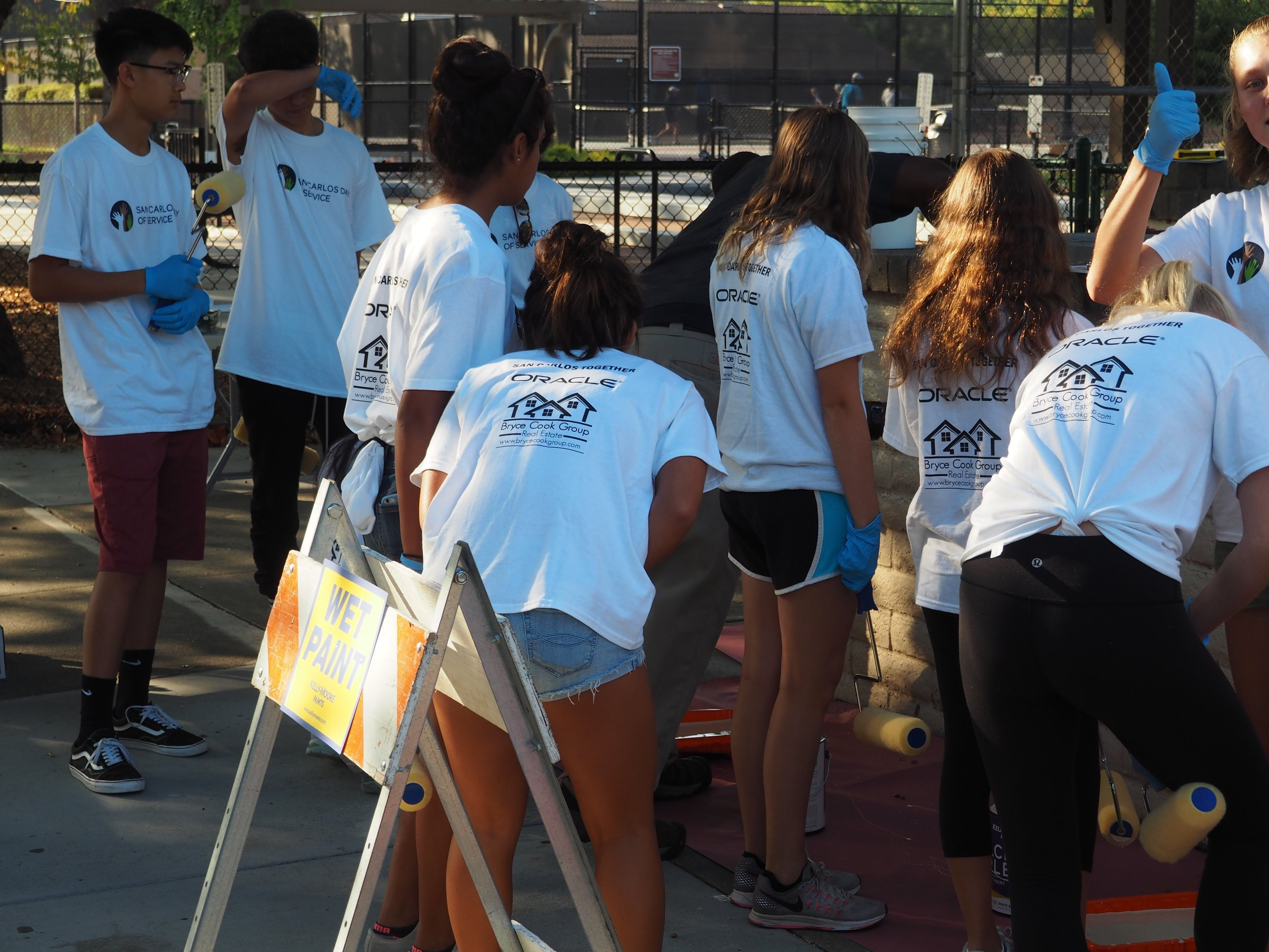 Carlmont Key Club in action