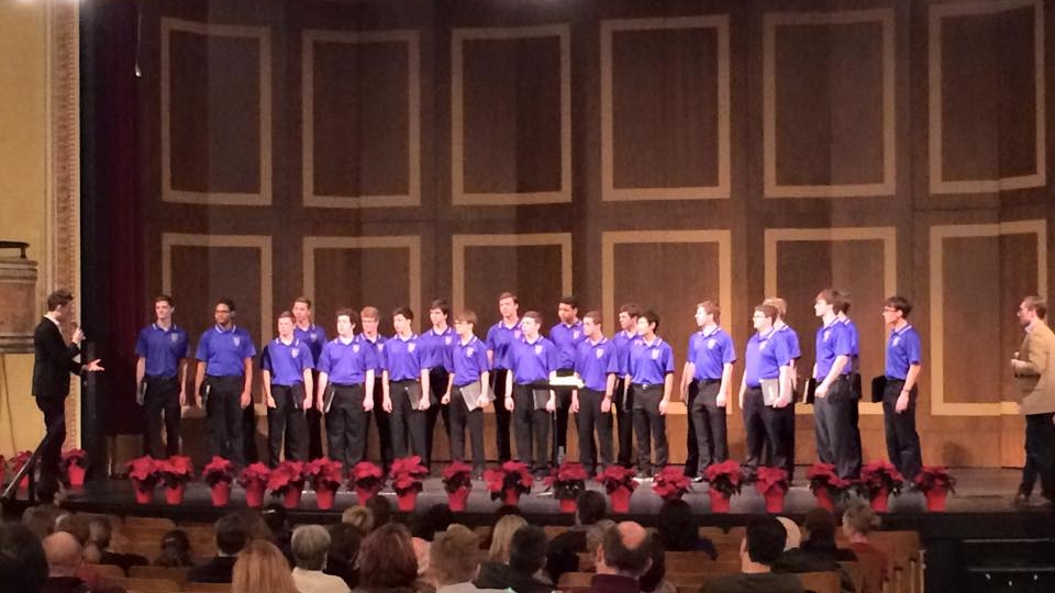Previously, in 2014, The King's Singers led a free master class that included the Rockhurst High School Chamber Choir.