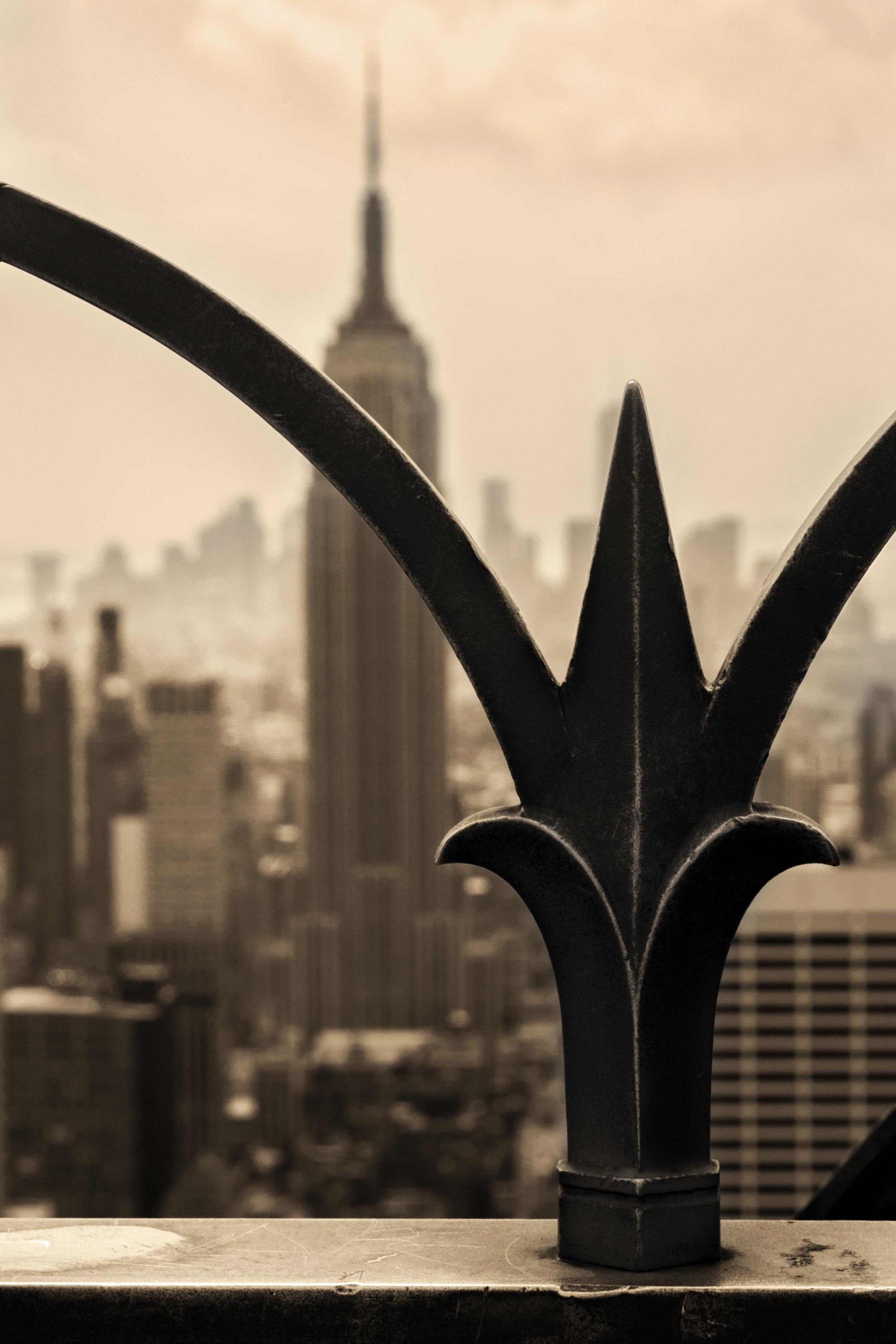 Top of the Rock - Rockefeller, NYC