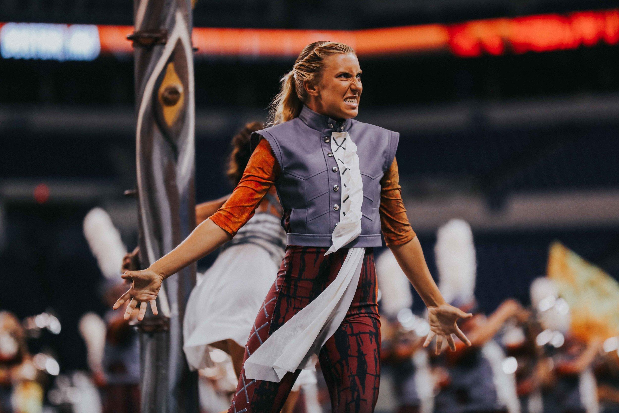 Kaitlin Oresky, Boston Crusaders Drum Major