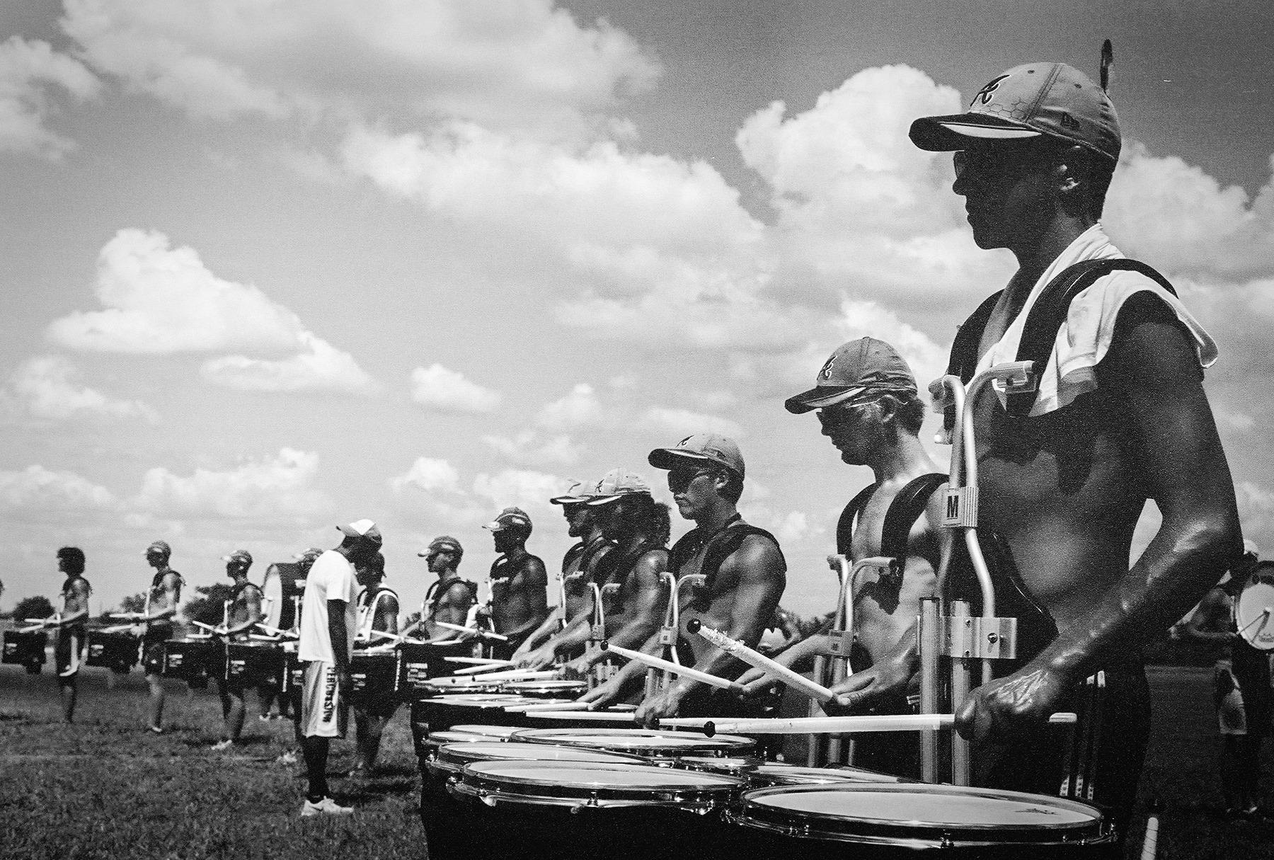 Crossmen 2013 Battery Rehearsal - Image Captured by  Zach Ashcraft