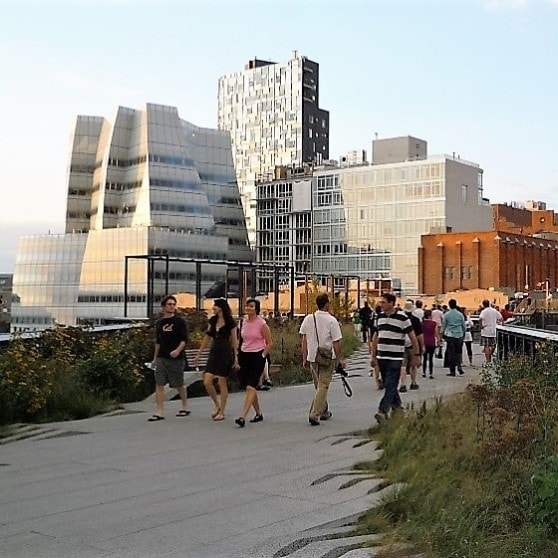 Highlights - 1. The High Line Park: Amazing elevated park created on top of old train tracks. It starts at Gansevoort Street and extends all the way to 34th Street.2. Washington Square Park: Located in Greenwich Village around 8th and 4th Streets. It is distinguished by the Arch facing 5th Avenue and its vibrant live entertainment. Home of the NYU campus.3. Madison Square Park: Located in Flatiron on 23rd Street and 5th Avenue4. Chelsea Market: Located between 9th and 10th Avenue, and between 15th and 16th St. Historic preserved building which includes a food hall and stores.5. Eataly: Located on 23rd Street and 5th Avenue. It is an Italian marketplace with many restaurants, bakeries, coffee place and more.6. West Village off grid streets: This old and charming area is located West of 7th Avenue between Morton Street and 14th Street. Beautiful tree lined streets, some still with cobblestones, surrounded by small restaurants, boutiques and shops.7. Financial District Stone Street: Oldest New York's street, lot of history packed in one pedestrian only block. The street is full of restaurants and bars that offer outdoor dining.8. Battery Parks: A getaway from the city on the southern tip of the Hudson River. Beautiful green areas and river walk for exercising or just a nice walk. Amazing sunsets.9. Brookfield Place: The new mall built in the WTC area home of many designers. There are great restaurants and bars facing the Hudson river.10. Pier A Harbor House: Located in the southern tip of Manhattan on the river, where you can enjoy outdoor eating and drinking right on the water.