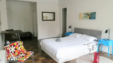 doorman furnished studio bed - ID3258.JPG