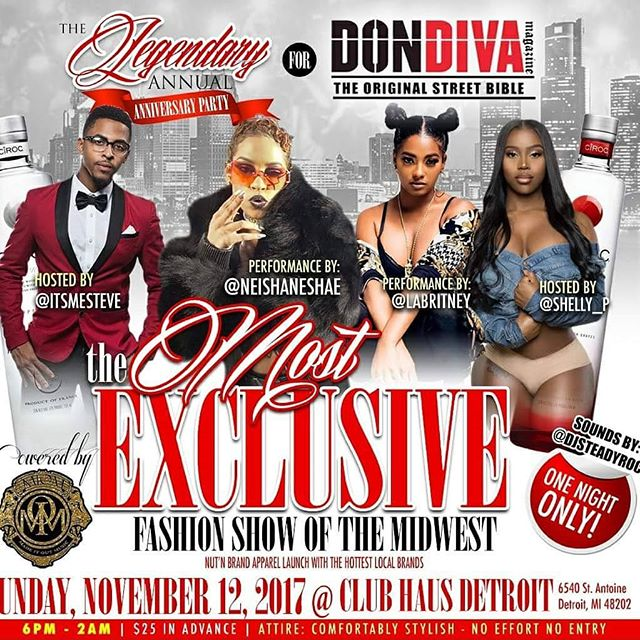 I'm officially a runway model for the Don Diva fashion show📸🎥🔌 #modeling #runway #fashion #dondiva #blessings #midwest #detroit #levelup #exclusive #manofmanytalents