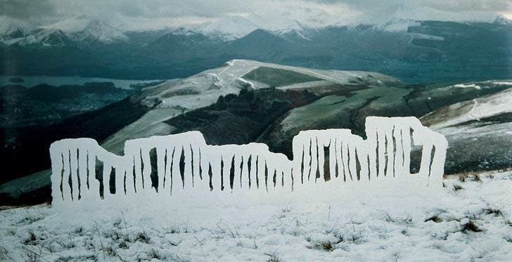 Art by Andy Goldsworthy