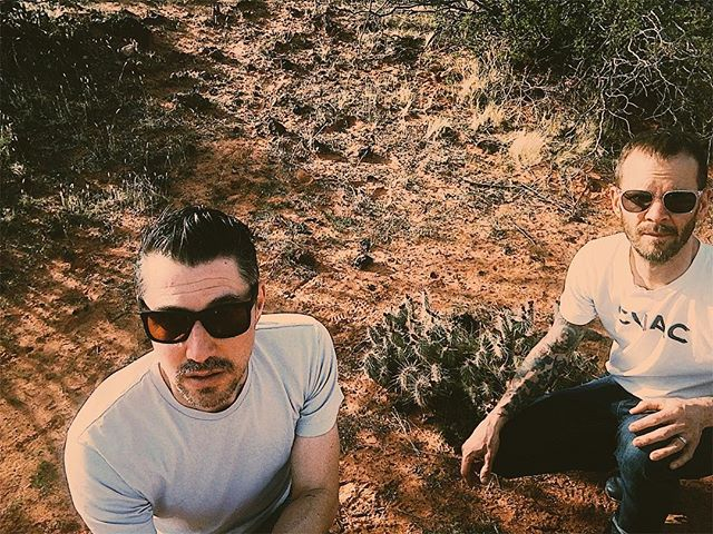 Timber Music Supply spending some time in the desert 🌵 New dirty swagger record coming soon.