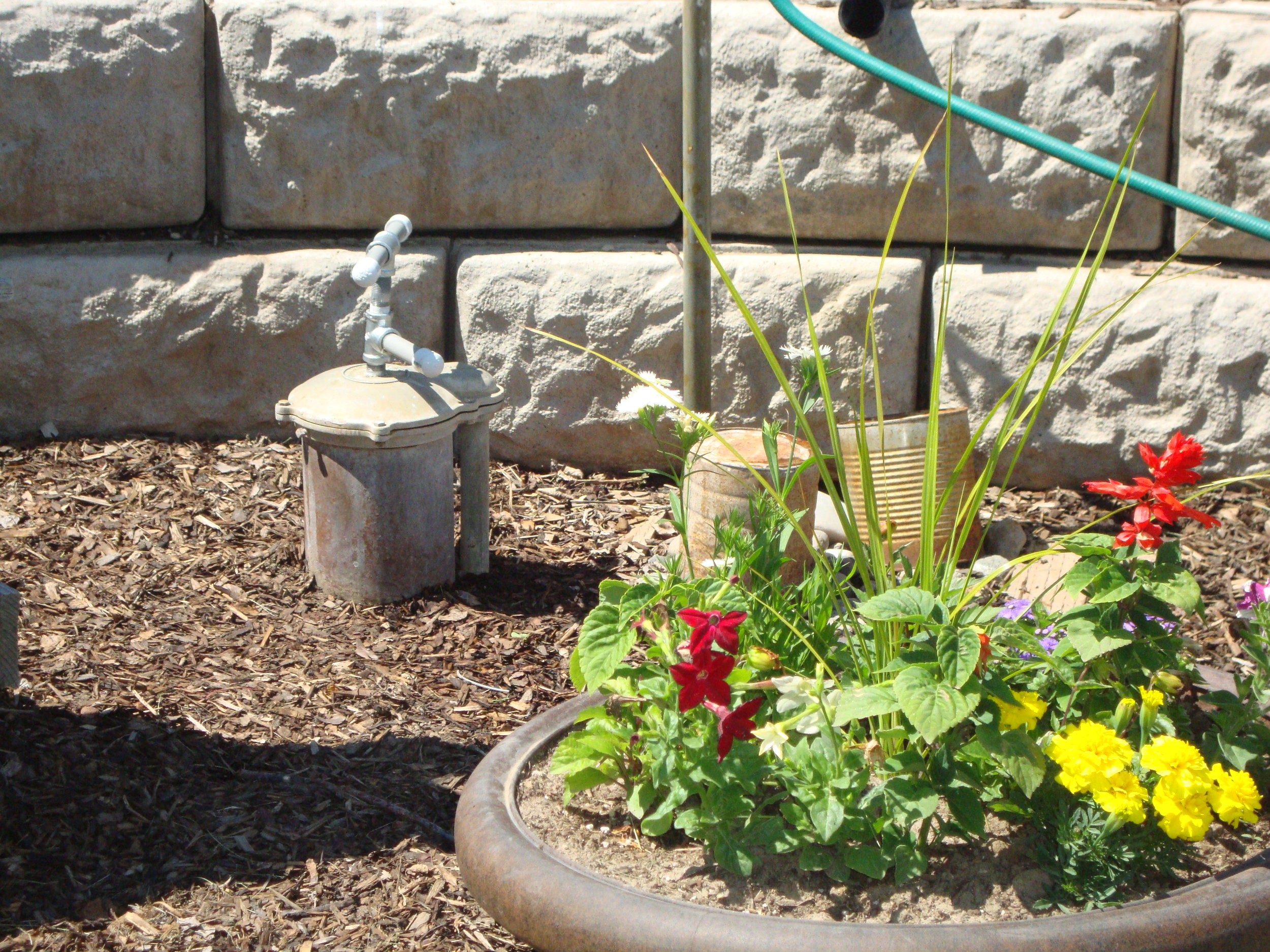 Simple, small design won't detract from landscape