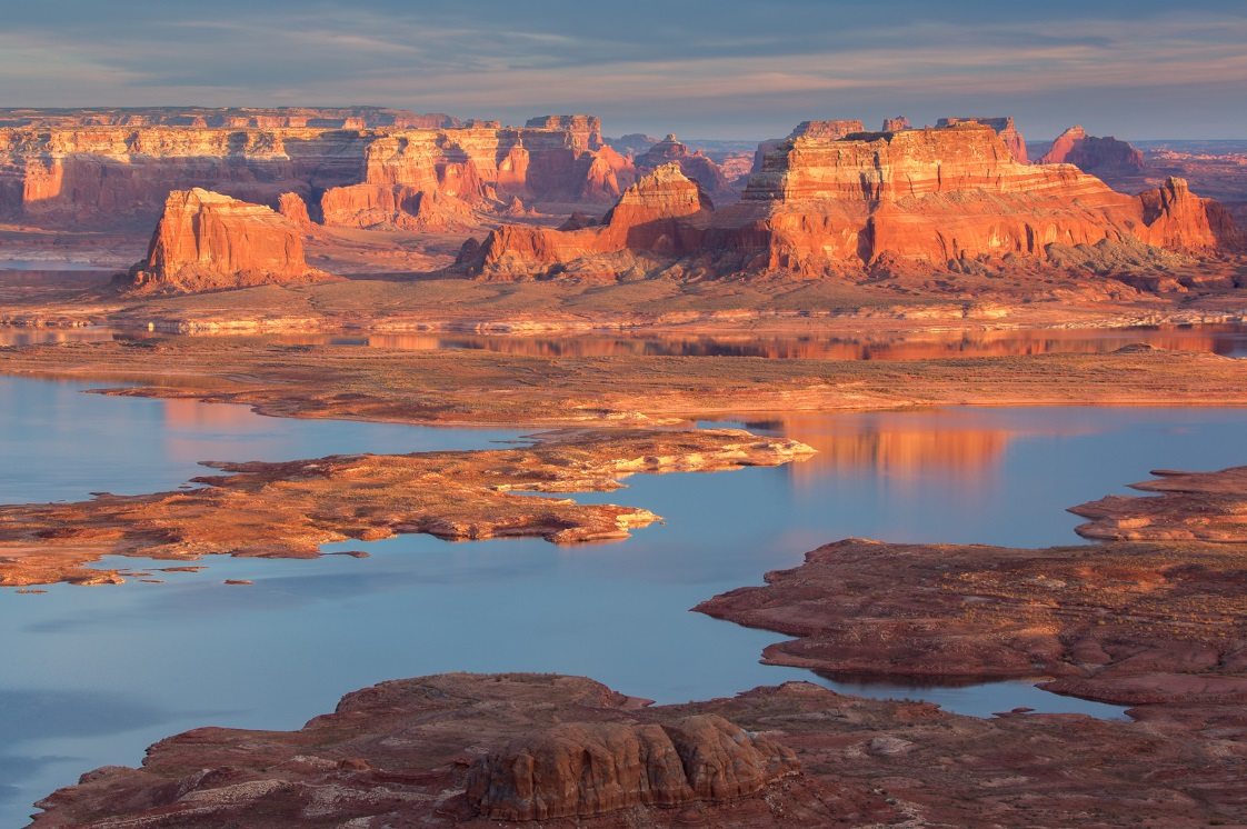 lake powell from above sunset - uot.jpg