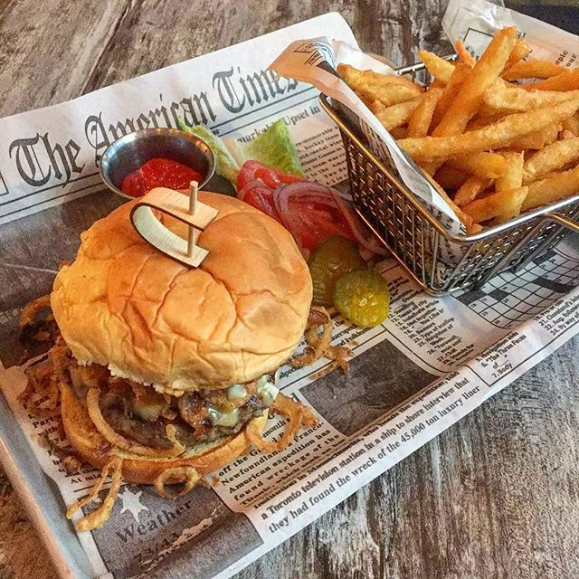 "🍔 B&B BURGER 👉 Smoked Gouda, Applewood Smoked Bacon, Crispy Fried Onions, Aioli & Truffle Fries 🍸 HAPPY HOUR Tuesday through Friday from 5pm - 8pm 🤓 TRIVIA NIGHT Every Wednesday at 8pm 🎶 LIVE MUSIC Every Thursday 7pm - 10pm 🚚: We DELIVER on @Grubhub: Click the ""Start Order"" button on our page (@arcadiabarnyc) 🍳 BRUNCH Every Sunday from 11am - 4pm • 🍽: Arcadia Bar & Kitchen #️⃣️: #ArcadiaBarandKitchen ☎️: (347) 730-6181 📍: Astoria, Queens 🌐: www.arcadiabarlic.com"