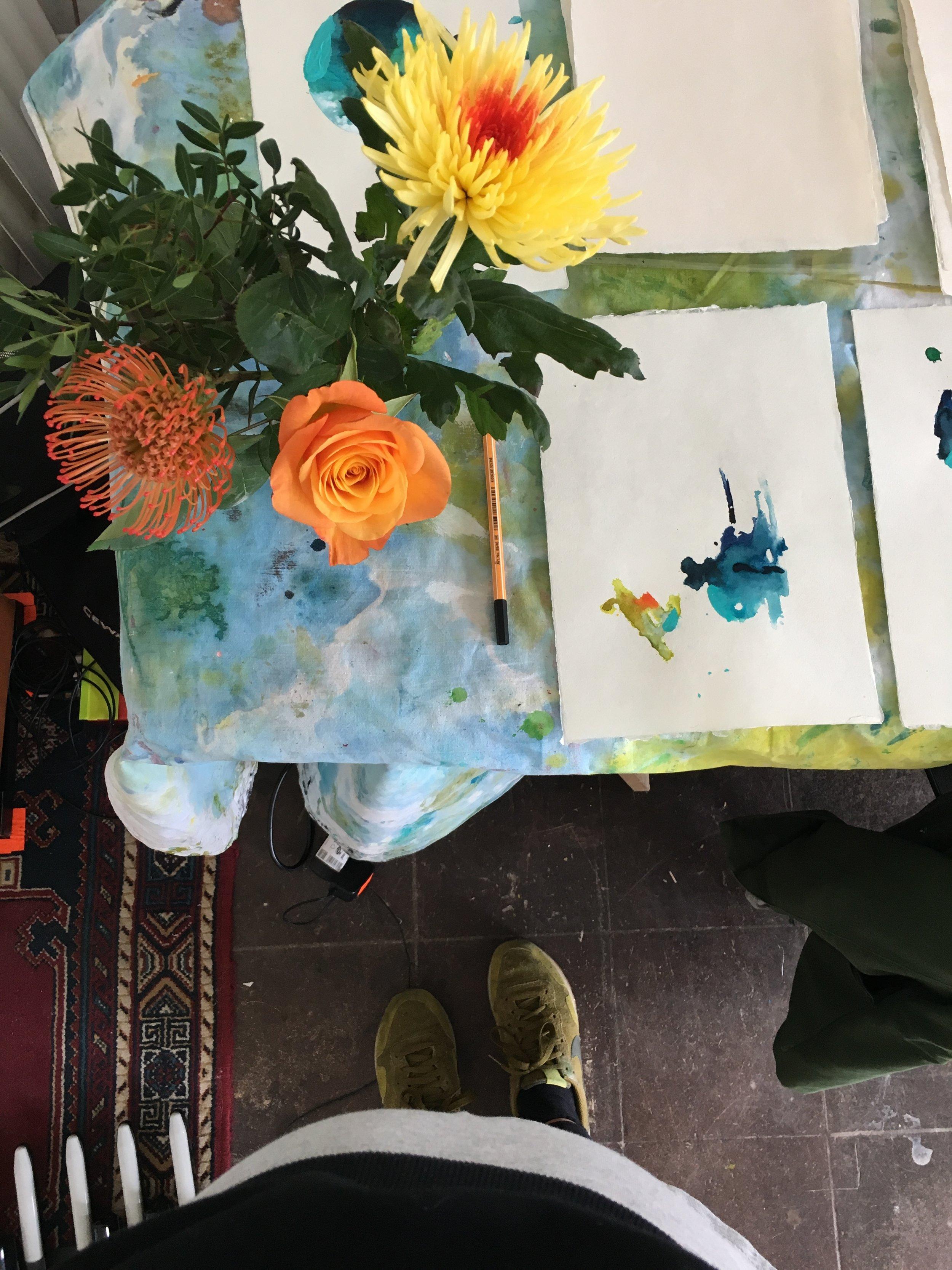 Heidelberg artist, abstract painter
