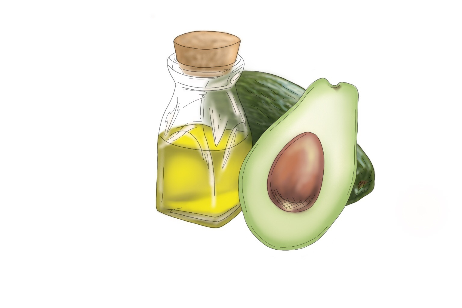 Avocado Oil - A natural moisturizing ingredient, derived from the seed of the avocado. Rich in vitamin A, vitamin D, and vitamin E, as well as essential fatty acids that all help to moisturize, heal, and protect your skin from damage. Avocado oil helps to fight off bacteria and has properties that help protect against sun damage and evens out the skin tone. Avocado oil easily absorbs into your skin, penetrating deeper than most oils, to leave your skin feeling hydrated without feeling too greasy. This is why when you wash off the Clay Mask, your skin actually feels hydrated.