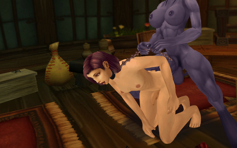 My first femboy image and it was with a futa draenei. He had been stowing away aboard a ruthless captain's ship.