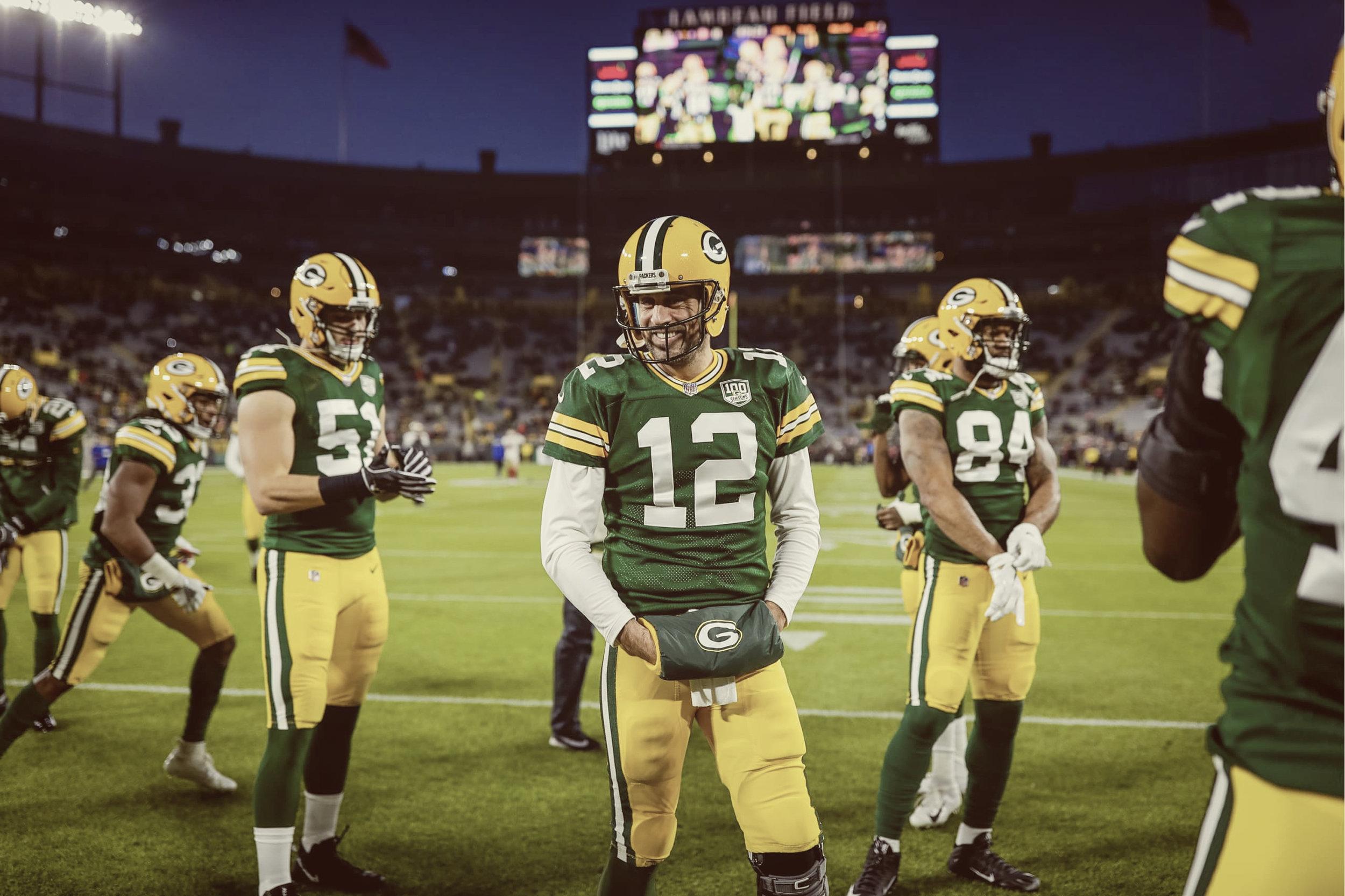 Via:   Evan Siegle/Packers.com