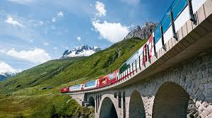 THE ALPS' MOST SCENIC TRAIN TRIPS - COMPLETED: HAVEN'T STARTED