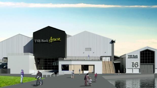 TSB Bank Arena - Refurbishment 2015-2016
