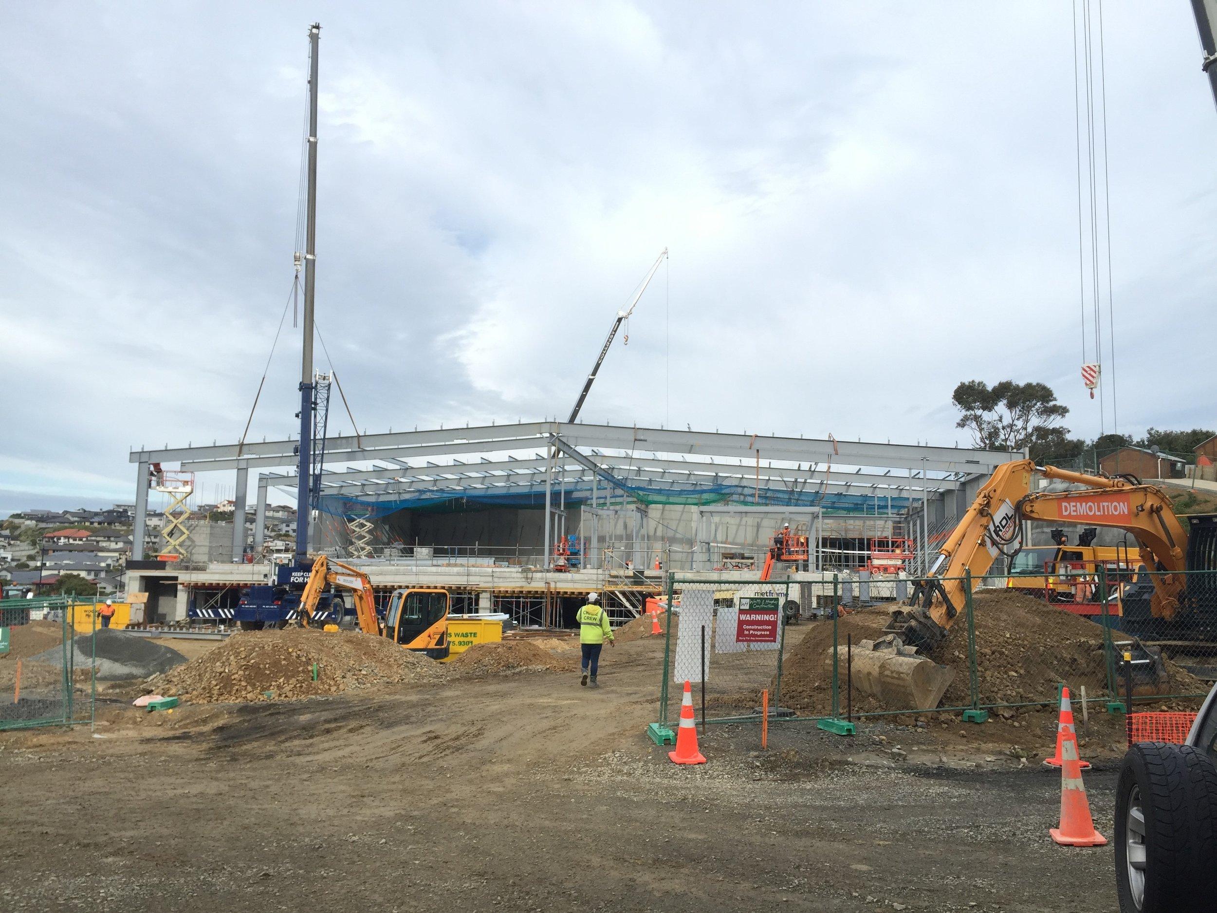 Countdown Aotea - under construction 2016