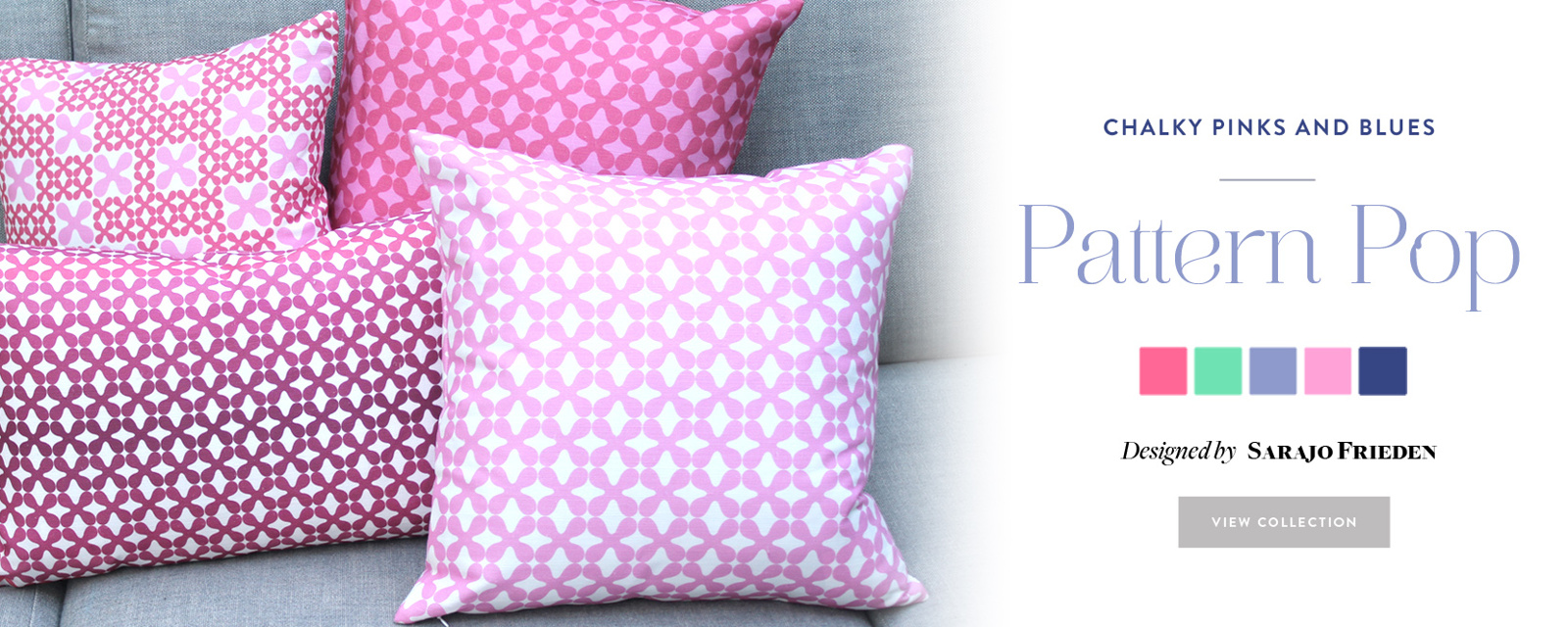 Pattern Pop: new collection at Guildery!