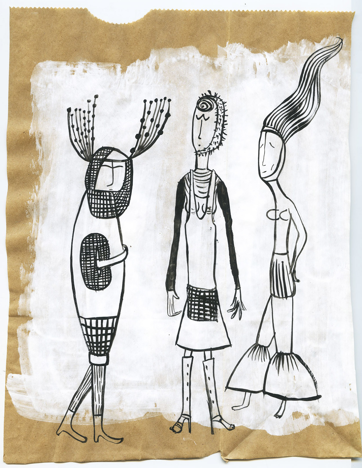 the three fashionistas