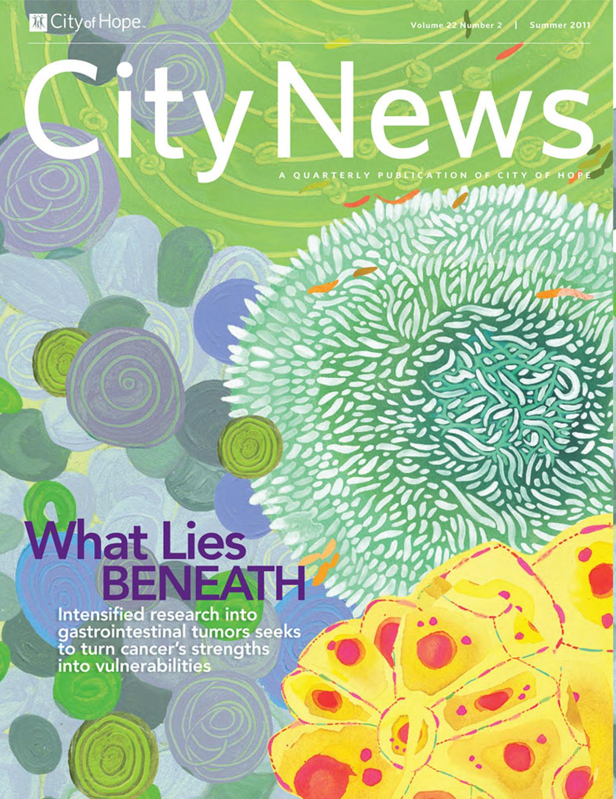 City News, a quarterly publication of City of Hope