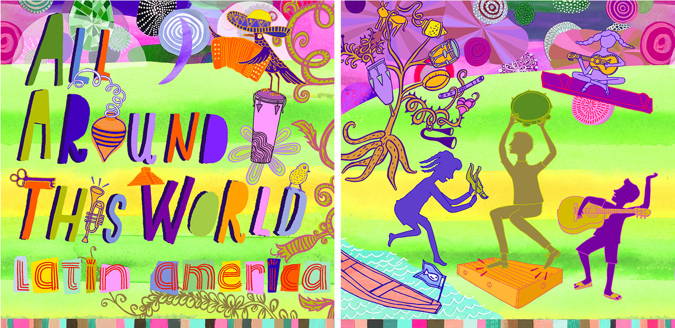 All Around This World, CD Cover