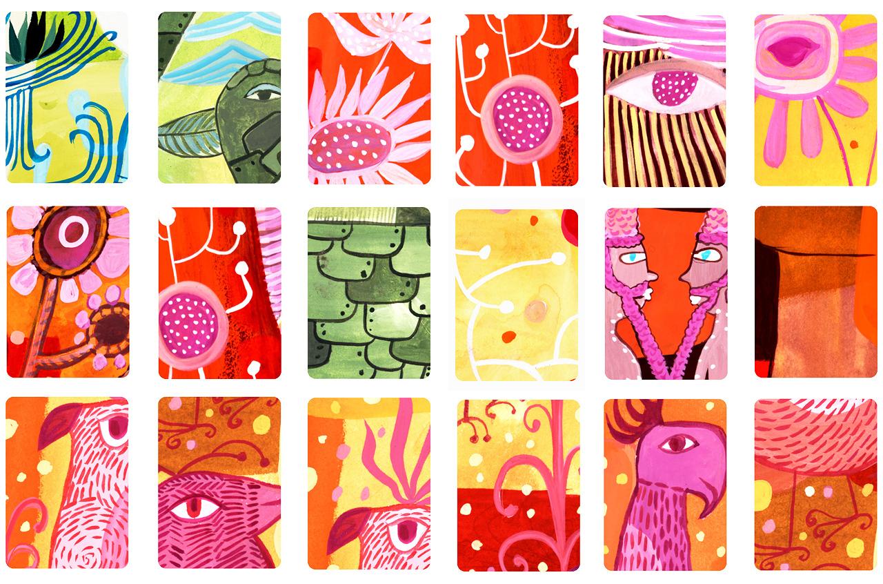 back of card designs