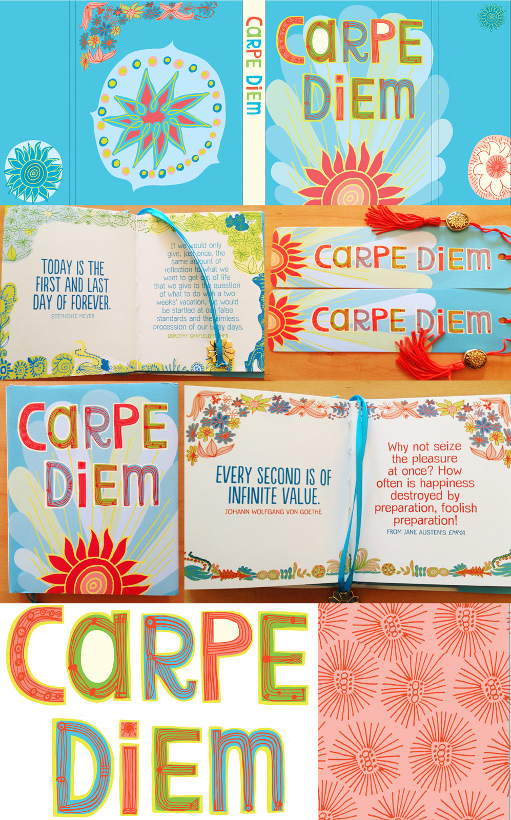 "new mini-book ""Carpe Diem"""