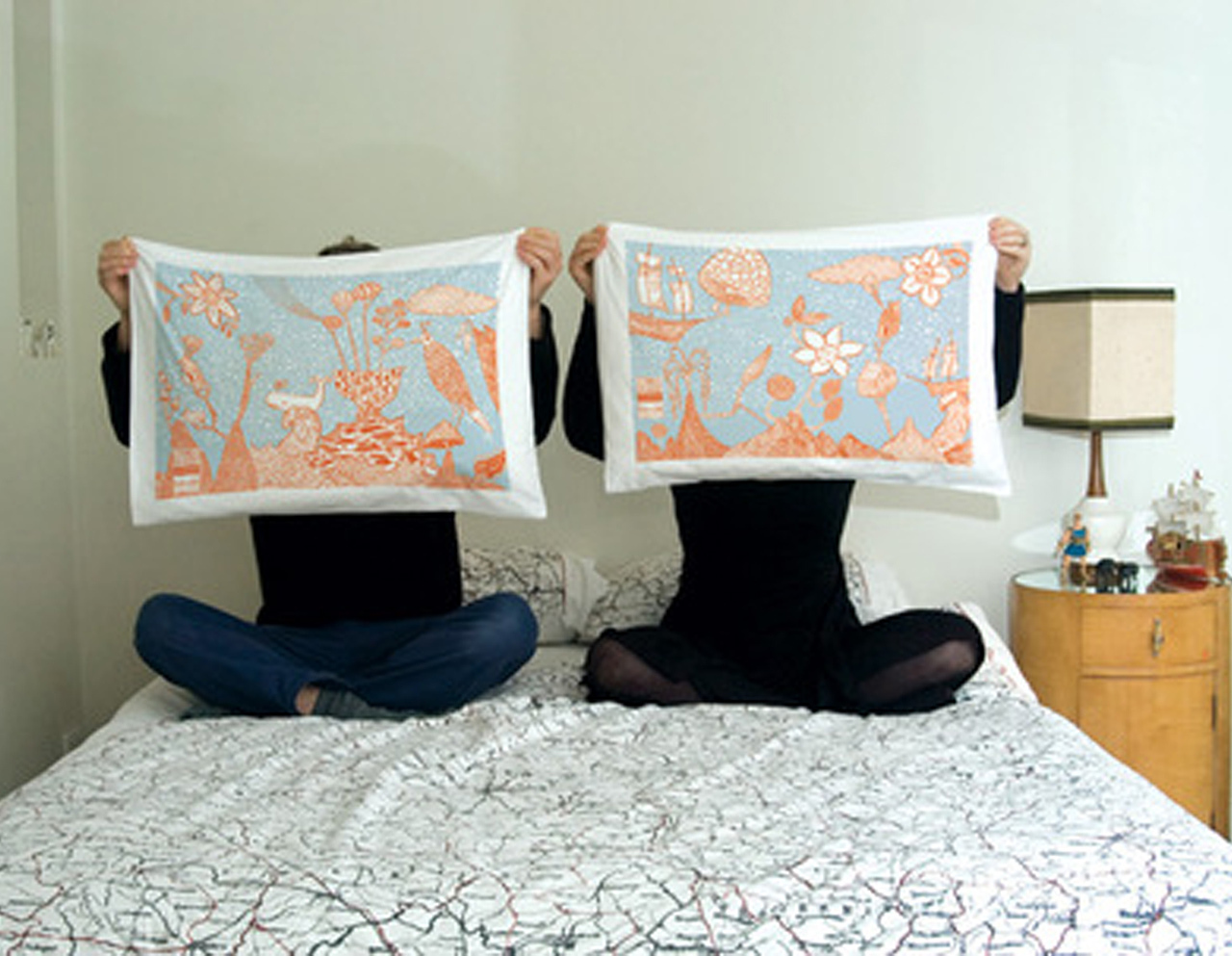 Maiden Voyage pillowcases