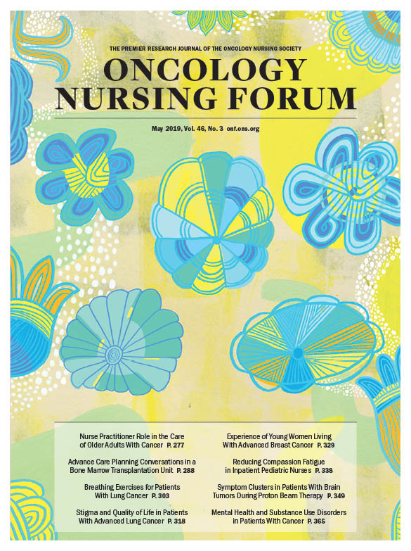 May Cover for Oncology Nursing Forum