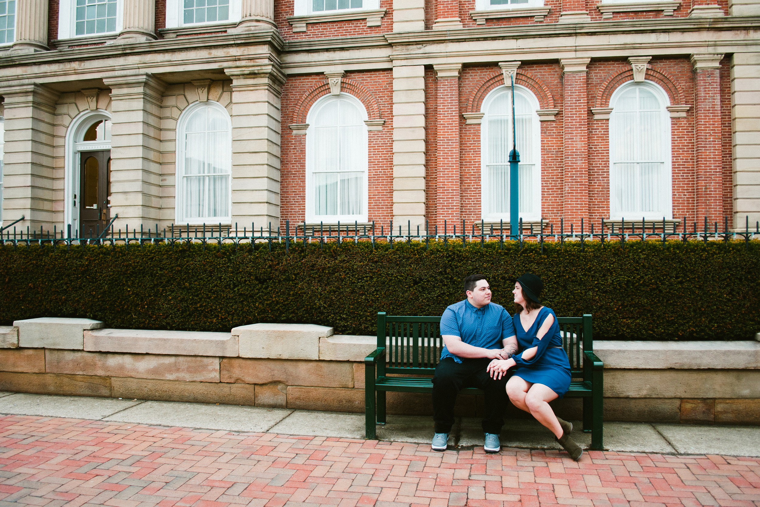 engagement photo in front of courthouse-2.jpg