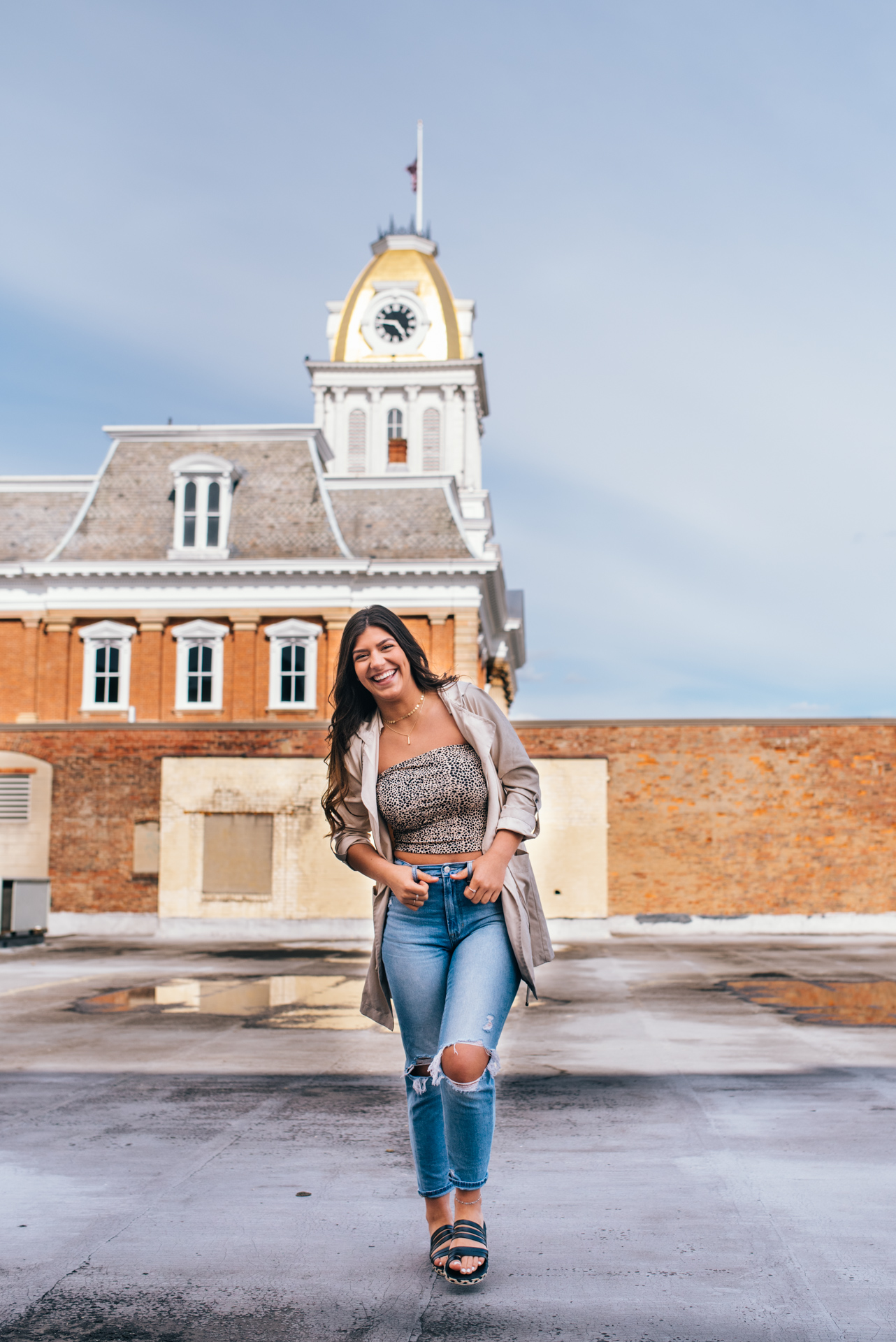Indiana Area High School Senior Photography