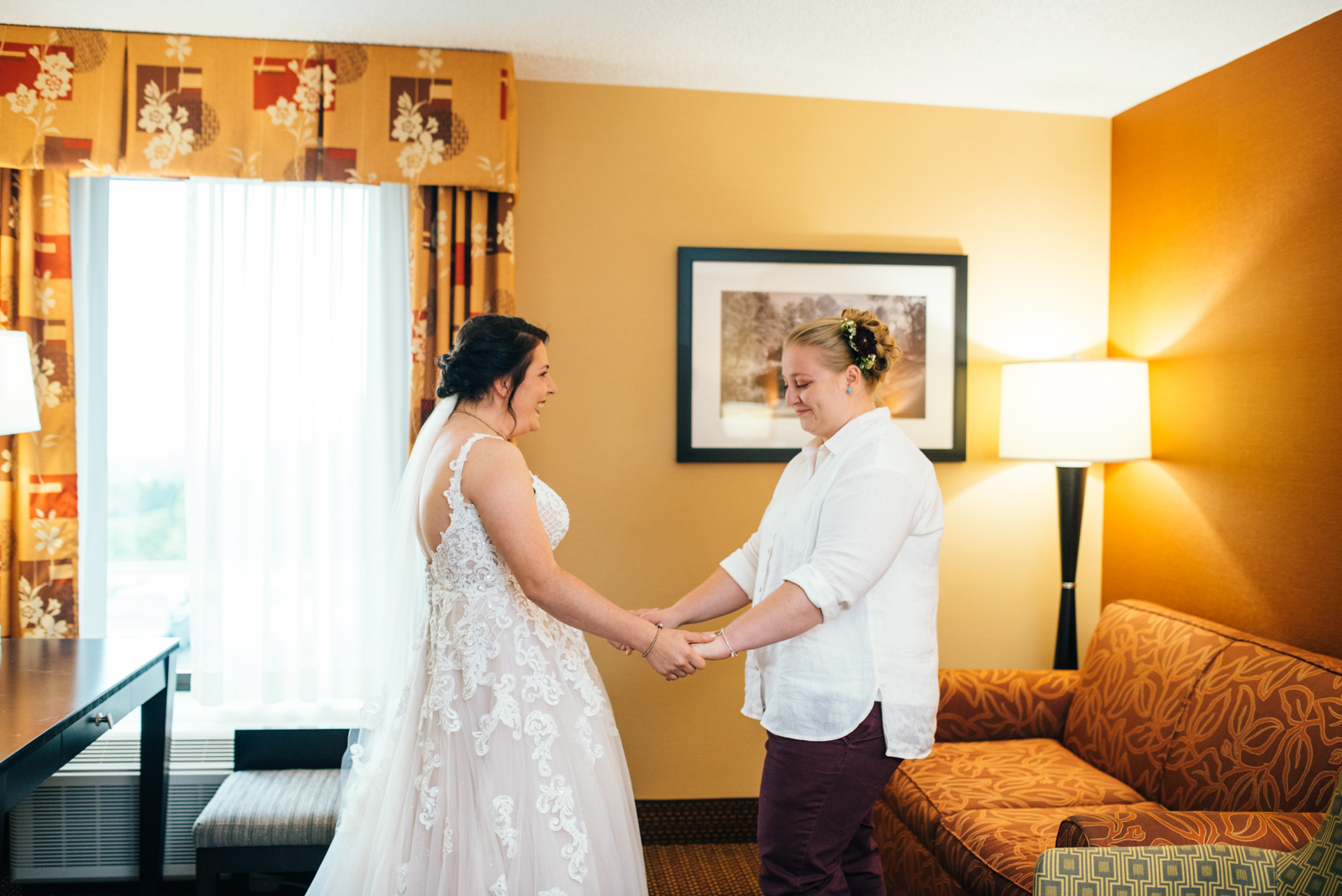 LGBTQ Wedding First Look