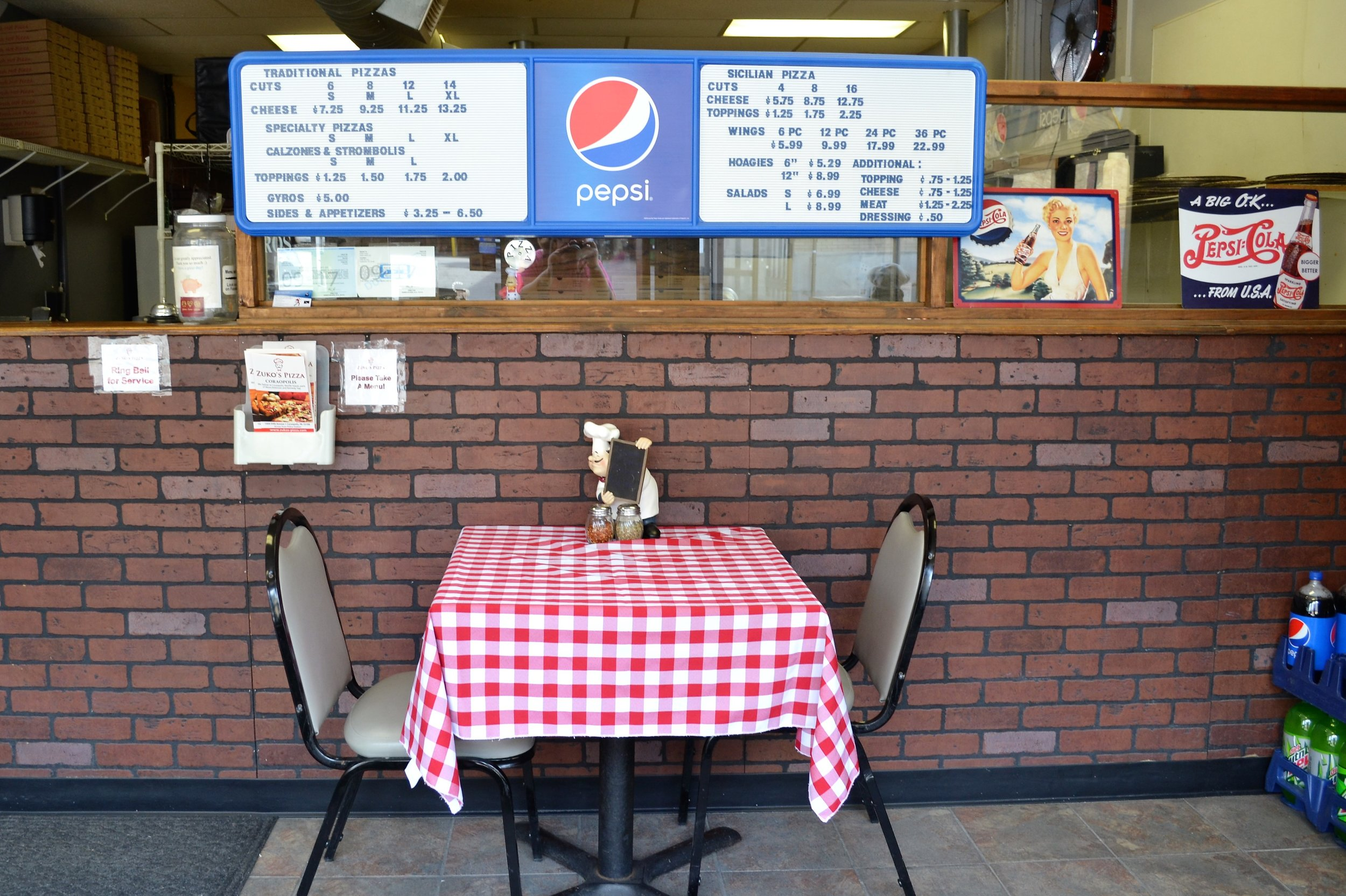 Zuko's Pizza & Wings - 1009 5th Ave, (412) 262-2299