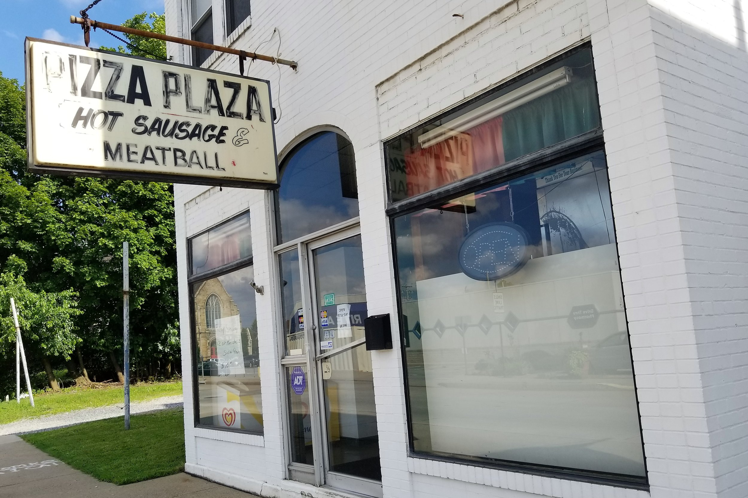 Pizza Plaza Hot Sausage & Meatball - 1110 5th St, (412) 264-8670