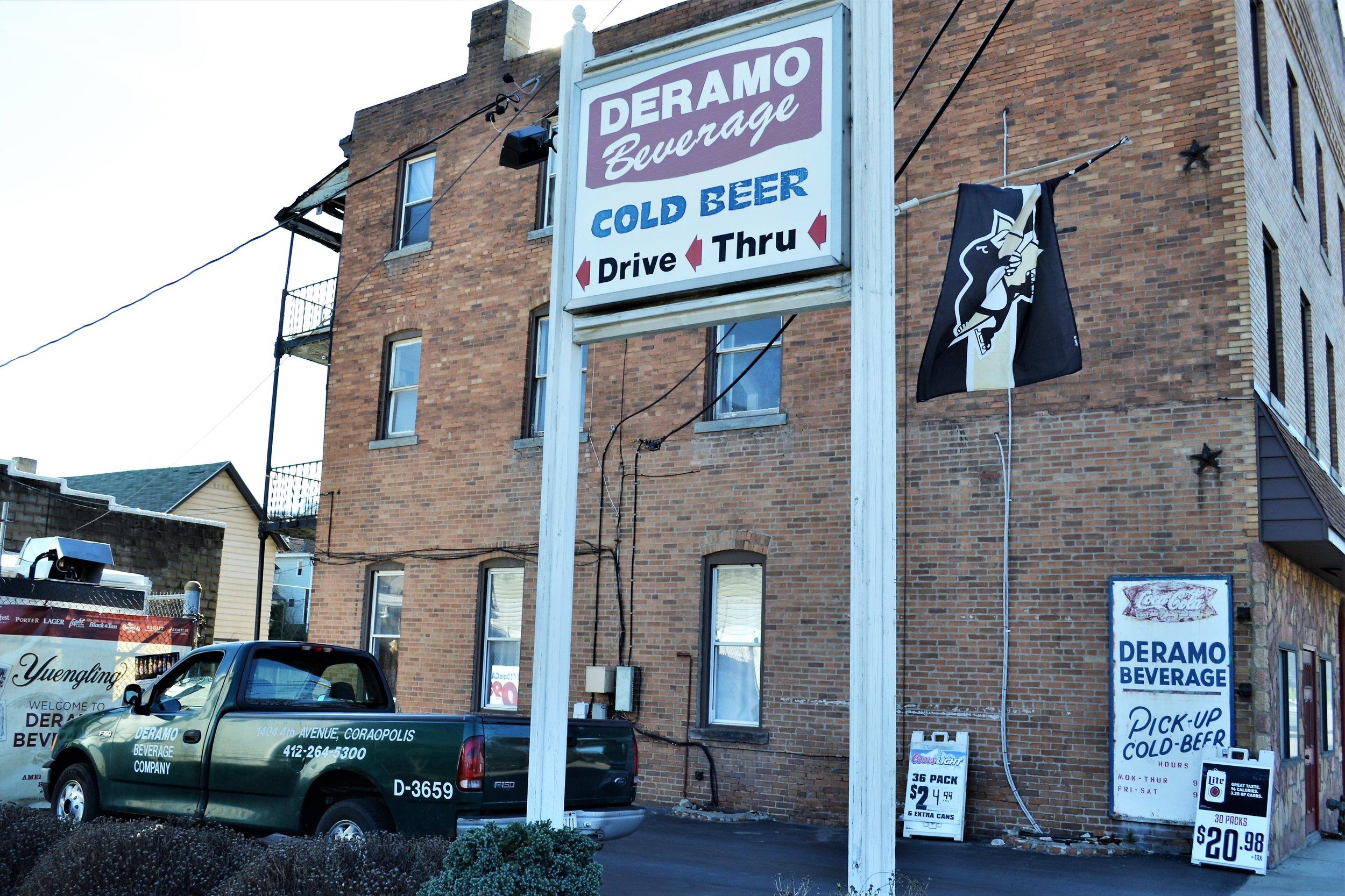 Deramo Beverage - 1404 4th St, (412) 264-5300
