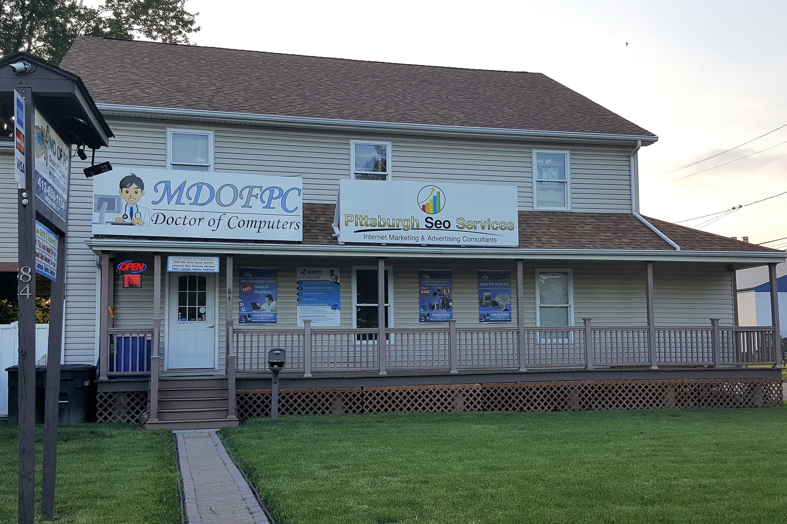 MDofPCDoctor of Computers - 84 Main St, (412) 680-1134