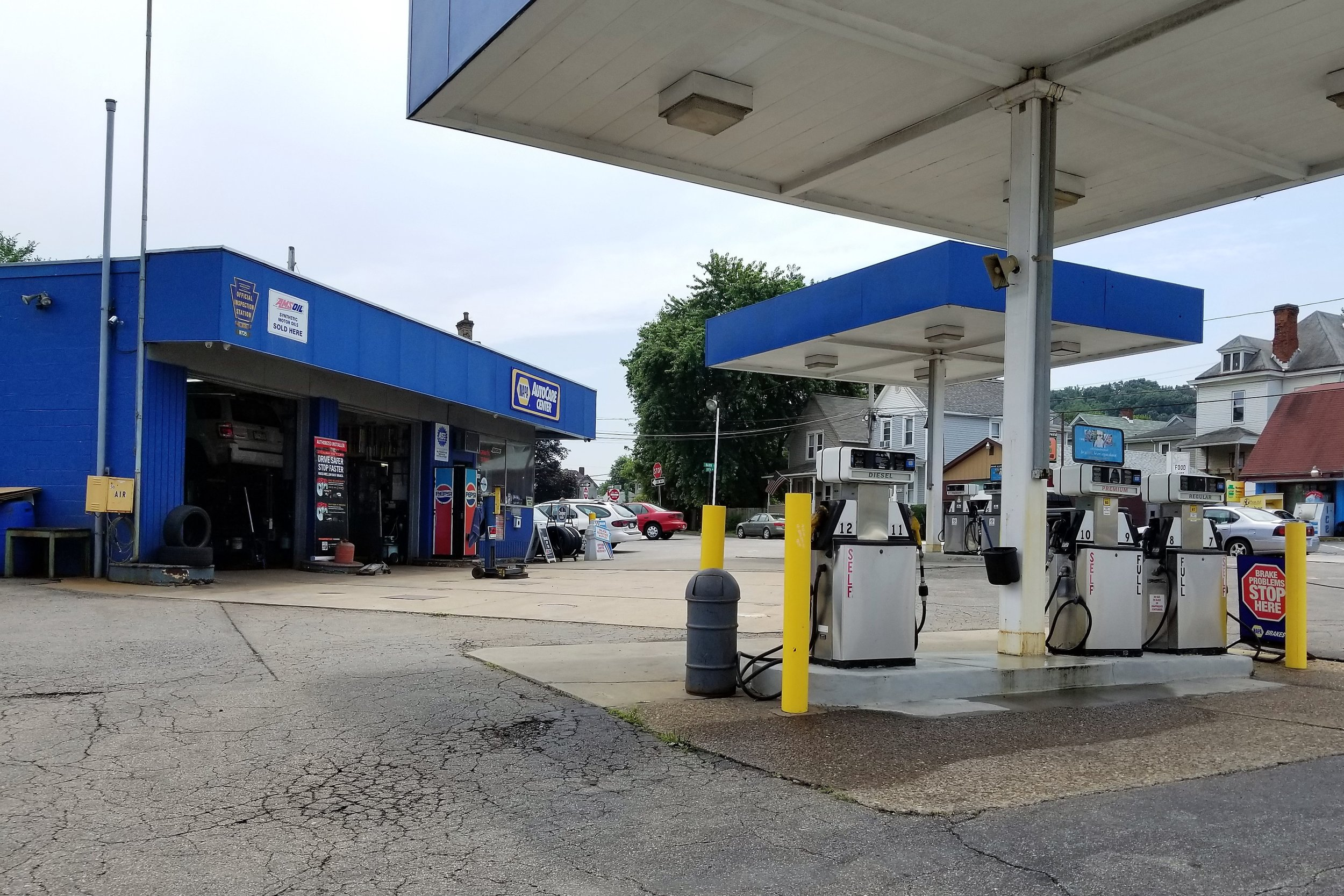 Graff's Service Station - 1601 5th Ave, (412) 264-9733