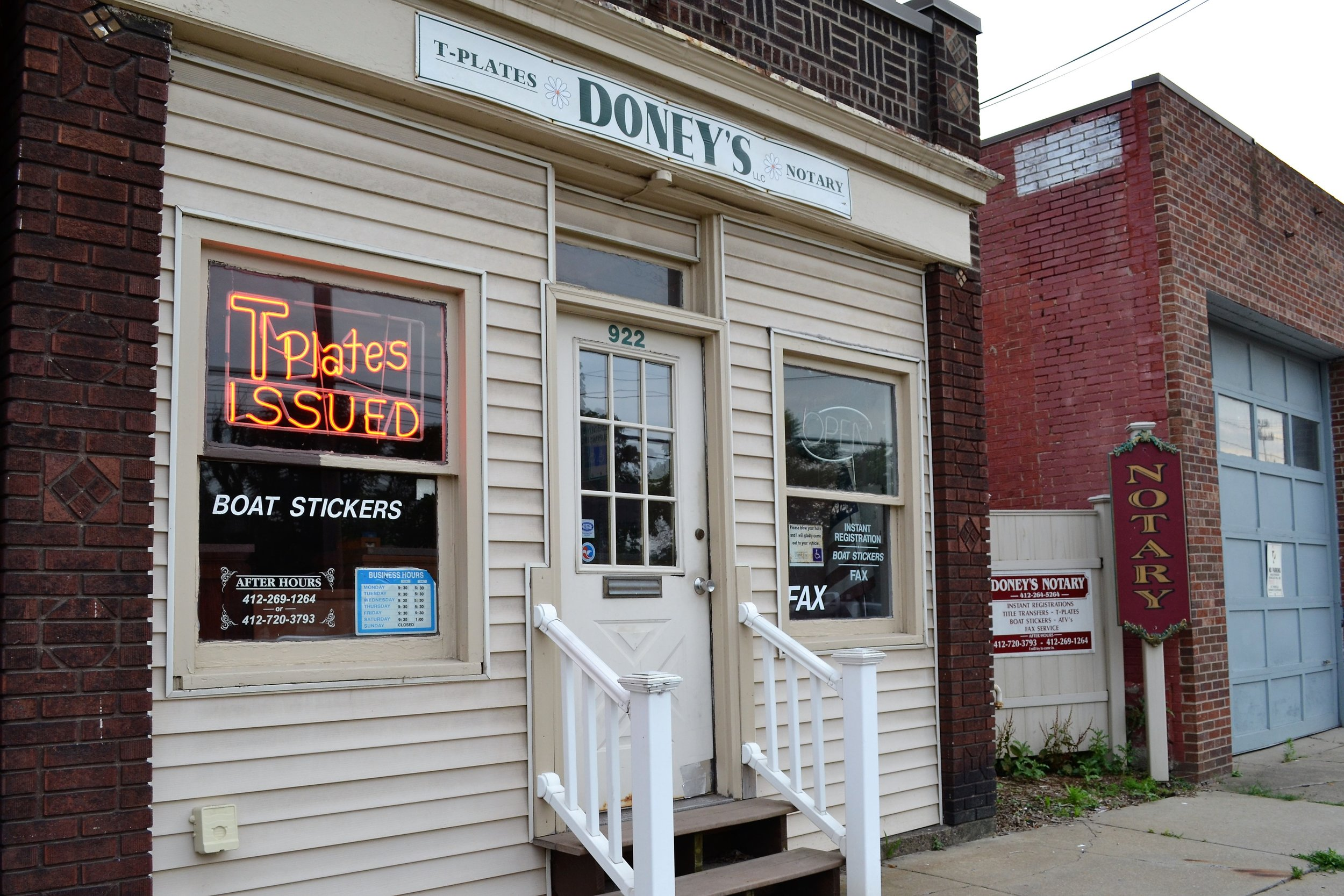 Doney's Notary - 922 4th Ave, (412) 389-9154