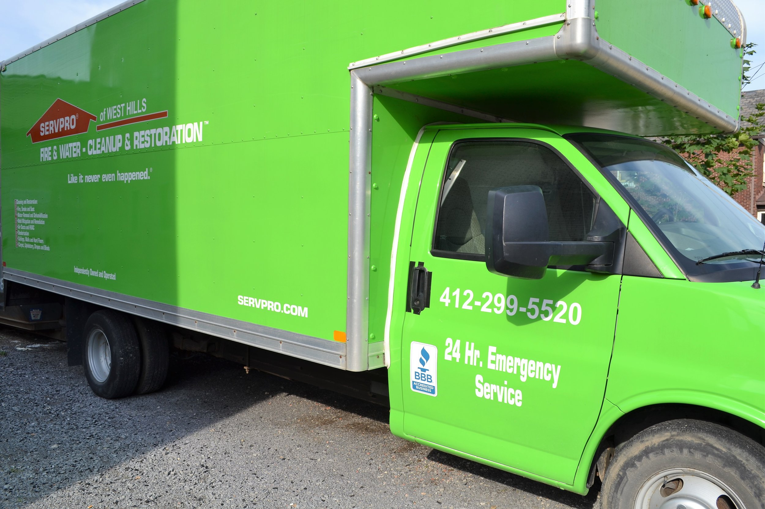 ServPro of West Hills - 1331 5th Ave,(412) 299-5520