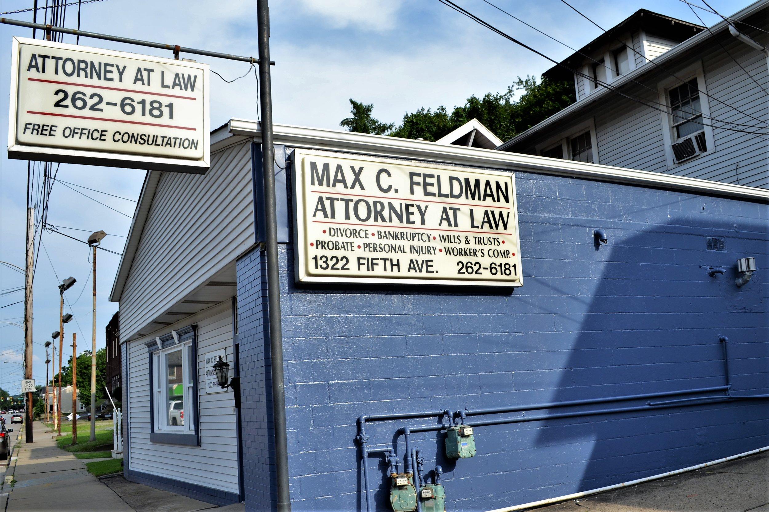 Max C. Feldman, Attorney at Law - 1322 5th Ave, (412) 262-6181